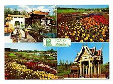 Munchen IGA 83 Postcard International Horticultural Exhibition Munich Flowers
