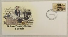 1982 Secondary Education Fdc