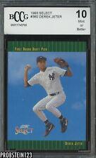 1993 Select #360 Derek Jeter Yankees RC Rookie BCCG 10