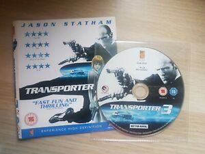 Transporter 3 (Blu-ray, 2009) ** DISC AND COVER ONLY **