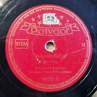 "Michael Lanner - Kuckucks Walzer - Mondnacht... - Polydor - /10"" 78 RPM"