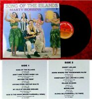 LP Marty Robbins Song of the Islands