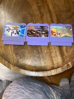 3 Vtech V SMILE Learning System Game Cartridges Ratatouille, Spider-Man, Winnie