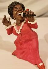 Female Jazz Singer Statue Figurine