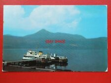 POSTCARD AYRSHIRE BRODICK ISLE OF MAN THE FERRY