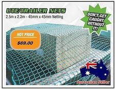 Ute Net Cargo Net, Load Cover for Ute Trailer Truck 2.5 x 2.2m