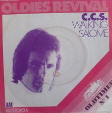 "7"" 70s KULT IN VG+ ! C.C.S. ( CCS ) : Walking + Salome"