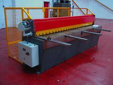 New CARTER Direct Drive Guillotine 3m x 3.25mm Sheet Metal Fabrication Shearing