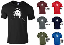 MICHAEL MYERS HALLOWEEN T-SHIRT - NOVELTY SCARY CREEPY FUNNY