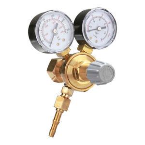 MINI Druckminderer Manometer Druckregler MIG MAG WIG Argon Co2/Stickstoff TIG