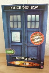 Doctor Who Ten Figure Set Series 3 #02516 - Boxed (Hospiscare)
