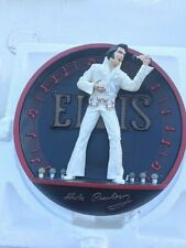 Collector light Up Plate Elvis Presley in the Spot Light On Stage in Hawaii