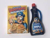 Captain Crunch Aunt Jemima Berrytastic Pancake Mix & Ocean Blue Maple Syrup