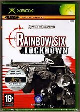 Xbox Rainbow Six Lockdown ( 2005 ), UK Pal, New & Factory Sealed