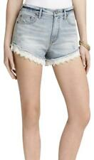 MINT Free People lace embroidered  boho shorts  denim size 25 s 2