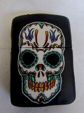 NEW FIMO Clay Covered Tribal Skull Windproof  Lighter