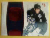 2011 Dominion Ruby Vincent Lecavalier Autograph /50 Tampa Bay Auto Signature