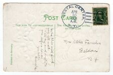 #300 on Postcard Vestal Center NY Broome Co Doane (1851-24) Nice Strike