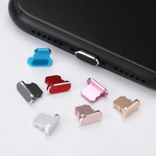 Puerto Cargador De Escritorio De Metal cubierta de polvo anti Enchufe Para Max 8 7 6 iPhone X XS 11 Plus