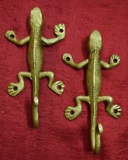 Lizard Shape Decorative Wall Hook For Cloth Hat Coat Home Furnish Decor VR692