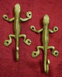 Lizard Shape Decorative Wall Hook For Cloth Hat Coat Home Furnish Decor VR692