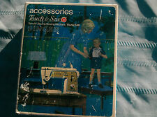 Vintage Singer #648Touch & Sew Zig ZagCams Feet Acces Gear#171128 & Instructions