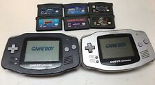 2 Gameboy Advance With 6 Games Spyro Spider-Man Bionicle