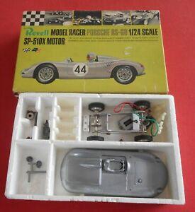 REVELL ( UK ) 1/24 Porsche RS - 60 Slot Car Part Built Boxed Excellent