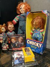Huge 6X Piece Chucky Doll Lot, Notorious, Japan, Horror,Halloween,Good Guys,Show