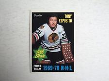 1970-71 OPC O-Pee-Chee #234 Tony Esposito Blackhawks 1969-70 All Star  MINT