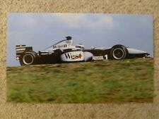 2001 Mika Hakkienen's West Mercedes Formula 1 Race Car Picture / Poster RARE!!