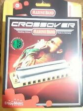 Official Hohner Marine Band Crossover X (Key: G) / 10 holes harmonica