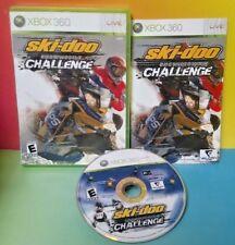 Ski-Doo: Snowmobile Challenge Racing Race - Microsoft Xbox 360 - Rare Complete