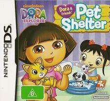 NINTENDO DS DORA & FRIENDS PET SHELTER GAME COMPLETE AUS RELEASE