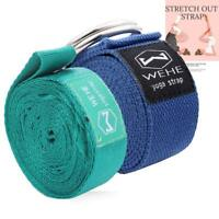 Adjustable Stretching Exercise Carrying Strap Fitness Rehabilitation Workout