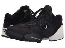 adidas Y-3 by Yohji Yamamoto Kanja Womens Hi-Top Black White Sneakers US Size 10