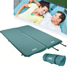 COLEMAN SELF INFLATING DOUBLE MAT Compact Mattress Air Bed Camp Hiking Single 41