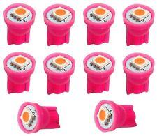 10x ampoule T10 W5W 12V LED SMD rose veilleuses éclairage intérieur coffre