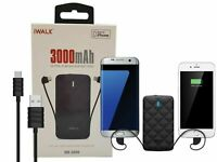 iWalk Duo 2.0 Slim 3000mAh Portable Power Bank Apple Lightning & Android Type C