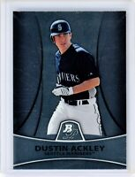 2010 Bowman Platinum Prospects #PP6 DUSTIN ACKLEY RC Rookie (Mariners) NM