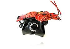 "Telephone BAKELITE Rotary SPINY LOBSTER"" EUROPEAN Rare item collectible Vintage"