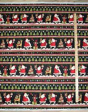 Santa's Gifts Debbie Mumm Sampler Christmas Fabric by the 1/2 Yard   #67489