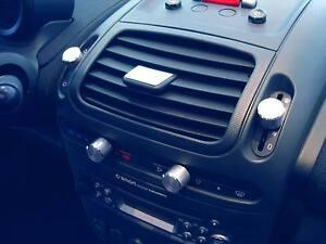 Smart Roadster / 1 Alu Platte Edelstahllook geschliffen für Lamellenverstellung