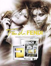 Publicité advertising 2010   FANDI  DI FENDI  le nouveau parfum  120313