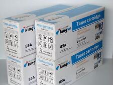 4PK Compatible Toners for HP 85A CE285A fits Laserjet M1212F M1212NF M1213NF