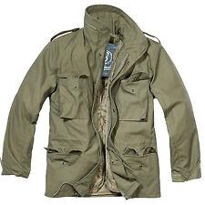 Brandit - M65 Standard Giacca Militare Verde oliva Oversize Taglie Forti Parka 3xl