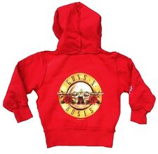 AMPLIFIED GUNS N'ROSES Kids Rock Star's Kapuzen Pulli HOODIE Zip JACKE g.116/122
