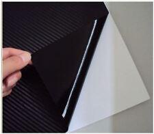 "Carbon Fiber 3D Wrap Vinyl Film Overlay Decal 3M 12""x60"" Sheet"