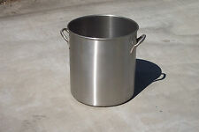 60 Qt Stainless Steel sanitary food grade  Stock Pot. Part #78640