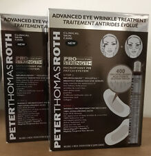 2 Boxes- Peter Thomas Roth Advanced Eye Wrinkle Treatment Micropoint Patch PM